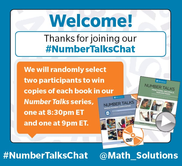 #NumberTalksChat 11/30 Recap