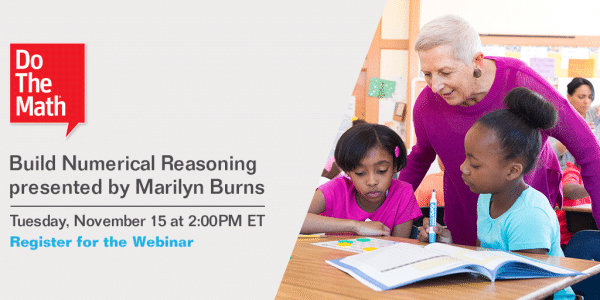 Do the Math Webinar Marilyn Burns