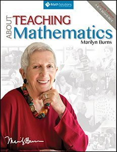 book cover: about teaching mathematics, by marilyn burns