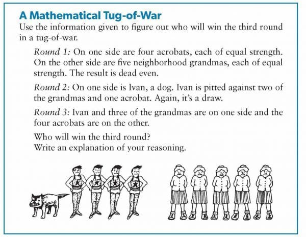 A Mathematical Tug of War
