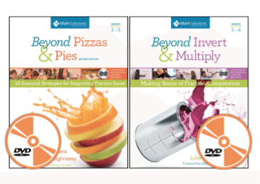 Beyond Pizzas & Pies and Beyond Invert & Multiply by Julie McNamara