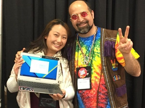 NCTM Annual Math Solutions Google Chromebook Raffle WInner