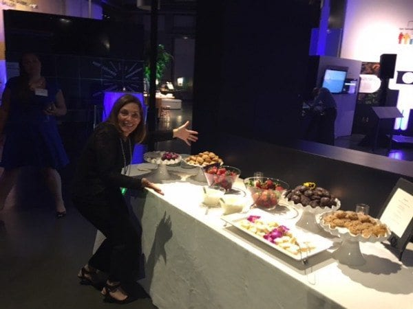 Dessert table Math Solutions NCSM 2016 Exploratorium party