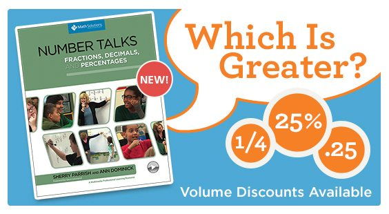 Our new Number Talks book is now available!