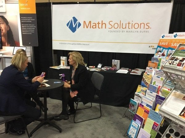 NCSM 2016 Math Solutions Booth