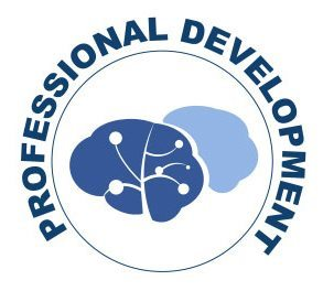 Professional Development with brain graphic