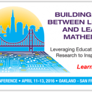 illustration of golden gate bridge and san francisco skyline with circuit boards instead of water | building bridges between leadership and learning mathematics; leveraging educatino innovation and research to inspire and engage, learn more... 48th NCSM annual conference • april 11-13, 2016 – oakland - san francisco bay area