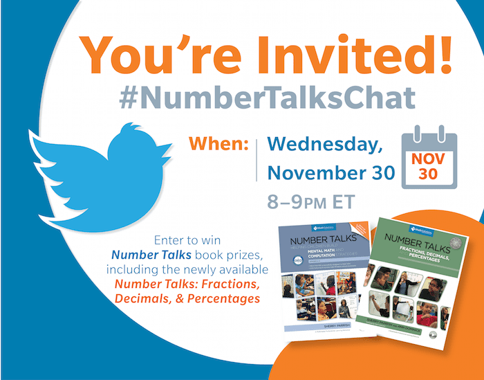 Join us for a #NumberTalksChat November 30th at 8pm ET