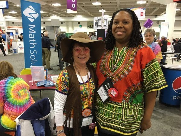 Patty and LeVada at NCTM 2016