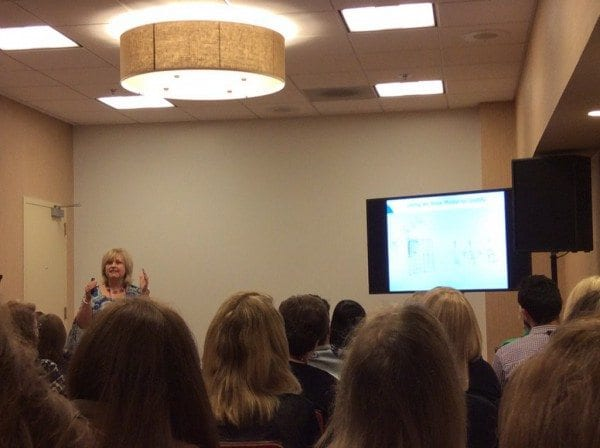 Sherry Parrish wows NCSM 2016 with her Number Talks sessions!
