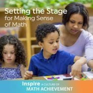 Setting the Stage for Making Sense of Math by Mary Mitchell