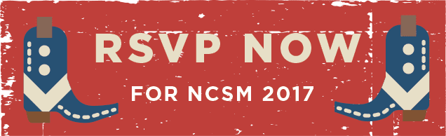 rsvp now for NCSM 2017