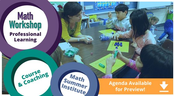 Math Workshop Professional Development: Course, Coaching, Book with Video