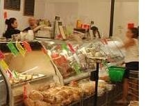 picture of a deli case and worker | Math at the Deli