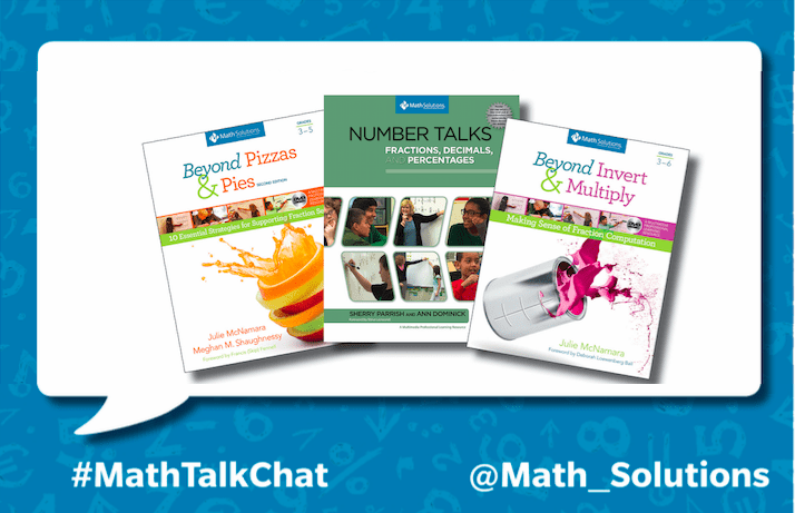 MathTalkChat Recap of Fractions Live Twitter Chat