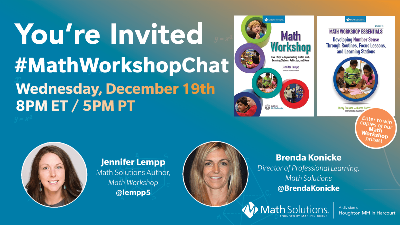 #MathWorkshopChat 12.19.18