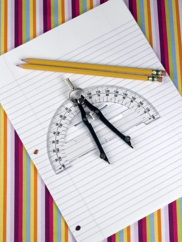 Paper, Pencil, Protactor