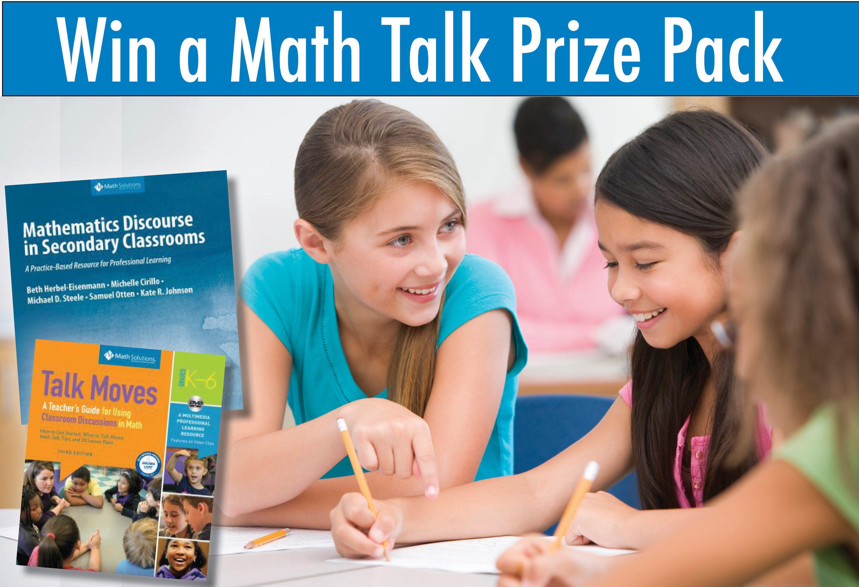 Win a Math Talk Prize Pack
