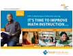 thumbnail of Math Solutions 2016 professional learning catalog