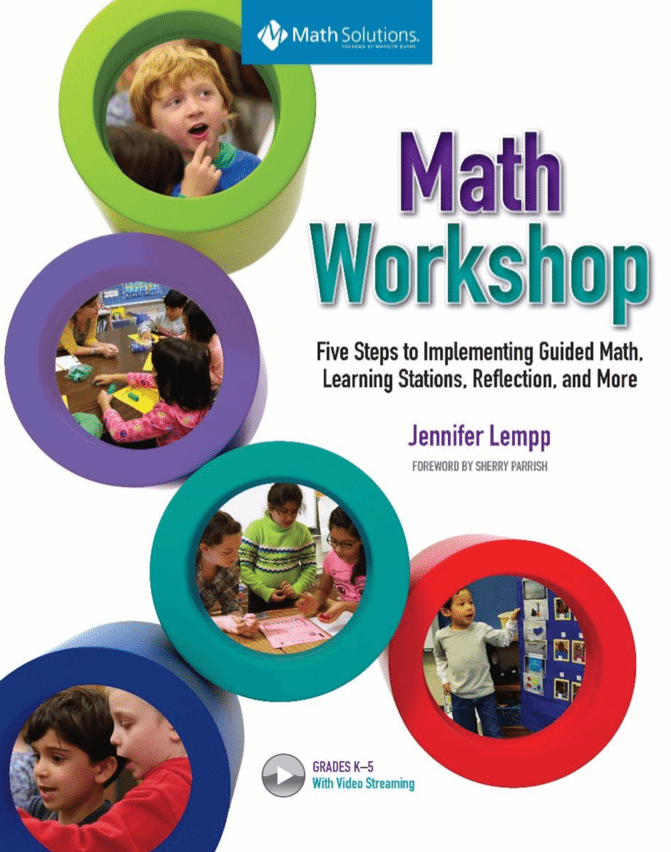 math workshop book cover