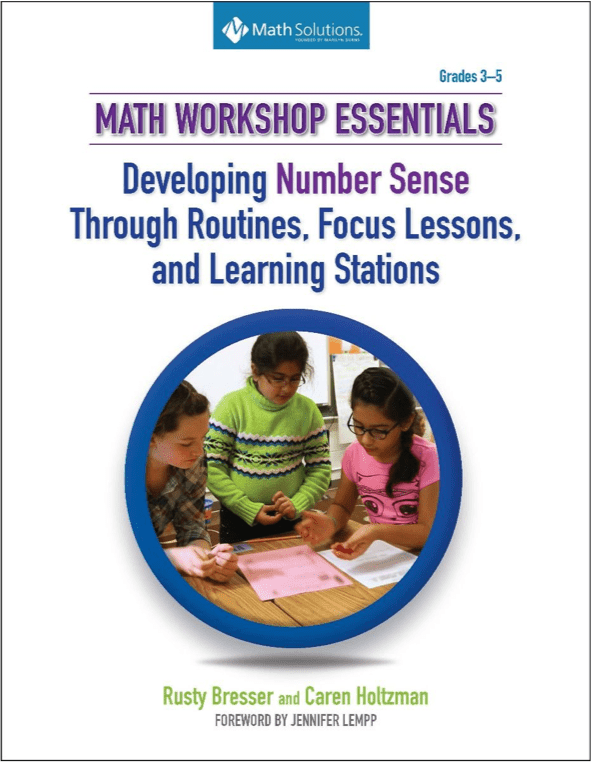 math workshop essentials book cover