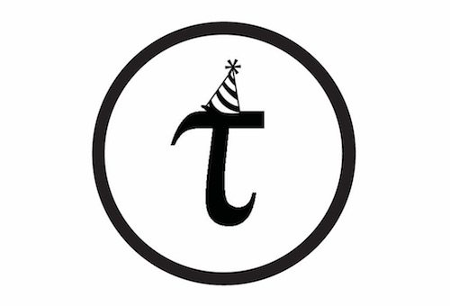 "graphic art image of a ""t"" for Tau 